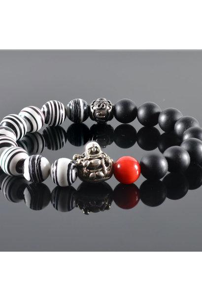 Heren armband Besakih Buddha