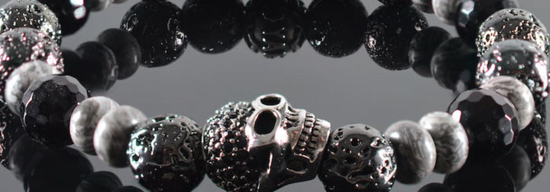 Armband heren Padrium Skull