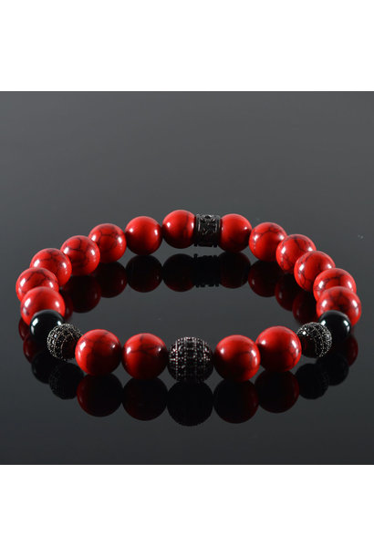 Heren armband Red Devil