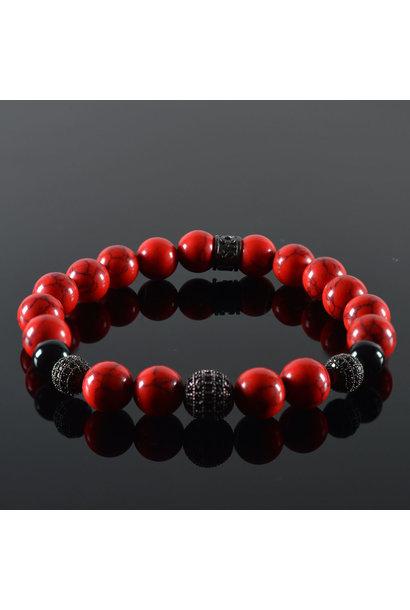 Herren armband Red Devil