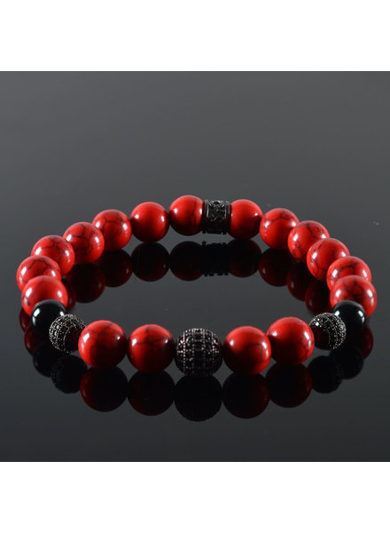 JayC's Men's bracelet Red Devil