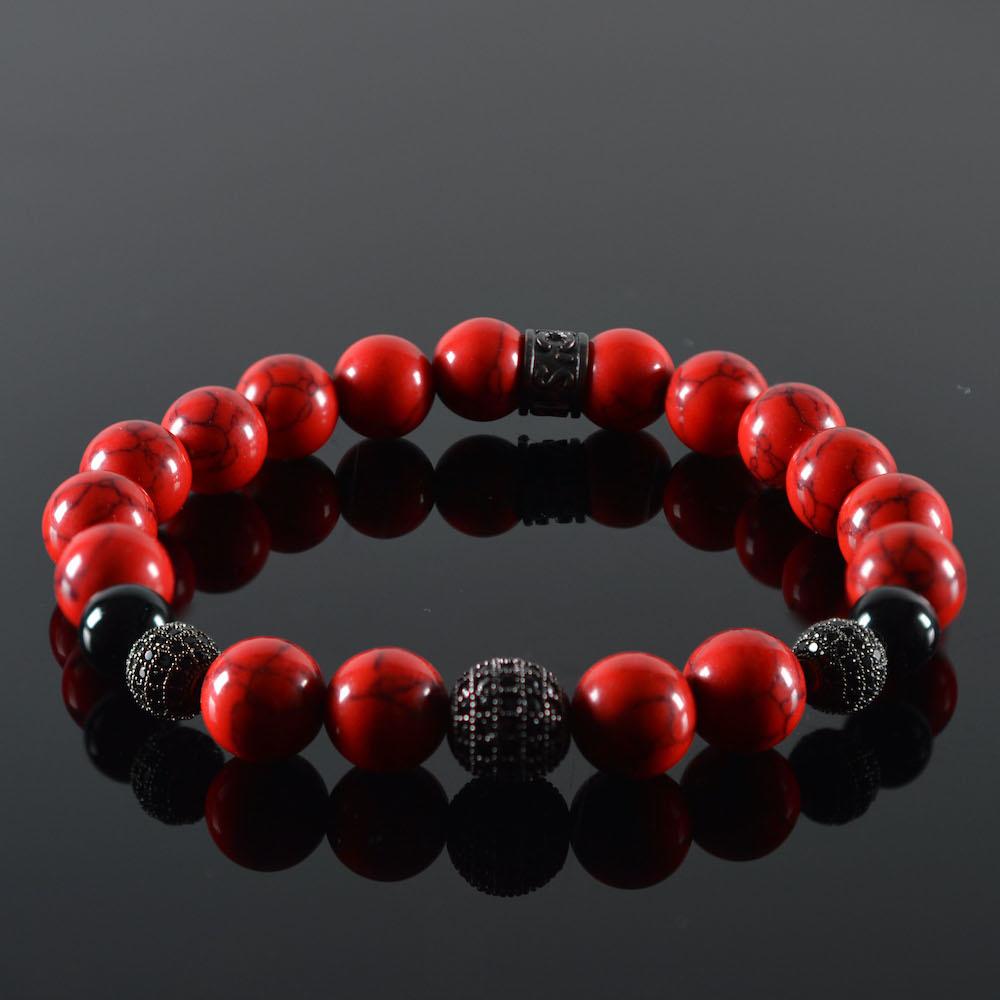 Armband heren Red Devil-1
