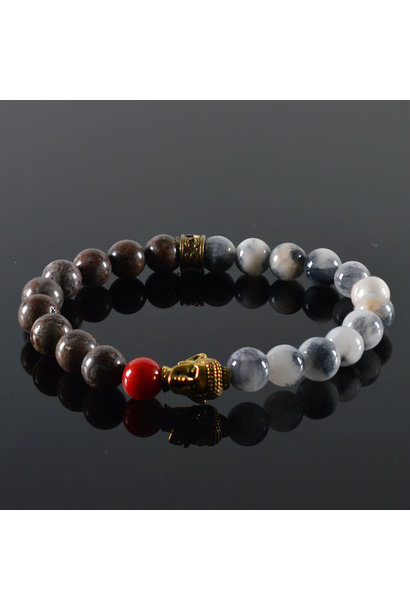 Armband Unisex Goa Buddha