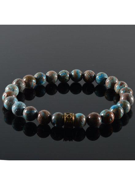 JayC's Men's bracelet Bleue