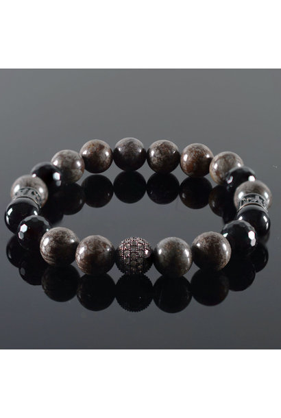 Men's bracelet Coffee