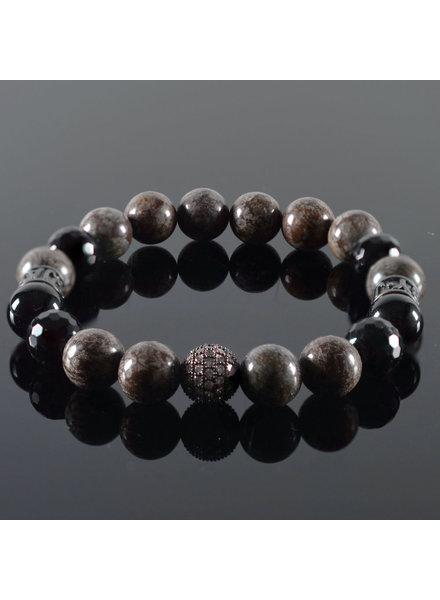 JayC's Men's bracelet Coffee
