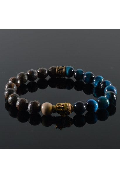 Heren armband Danum Buddha