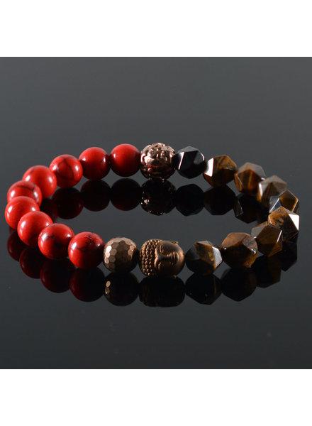 JayC's Dames armband Neva Buddha