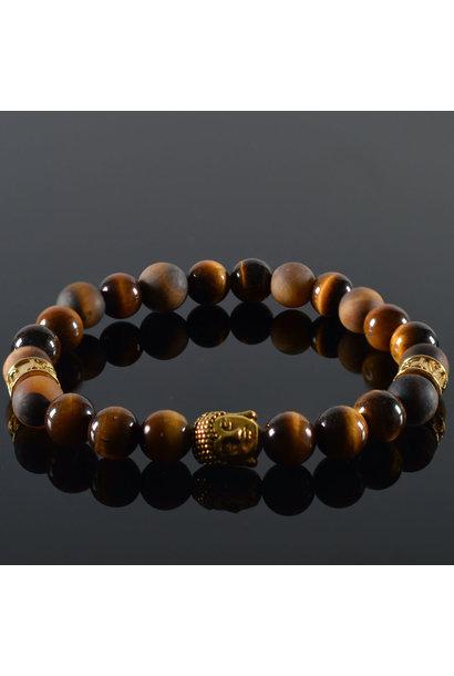 Dames armband I dont Care Buddha
