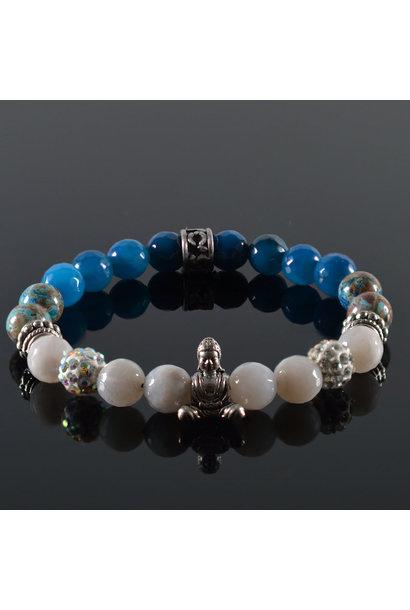 Damen-Armband Life is a Dream Buddha