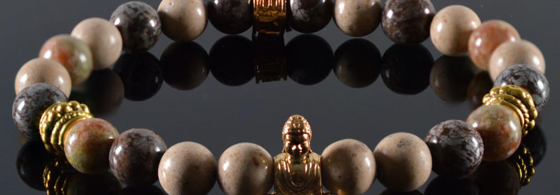 Armband dames Mind my Business Buddha