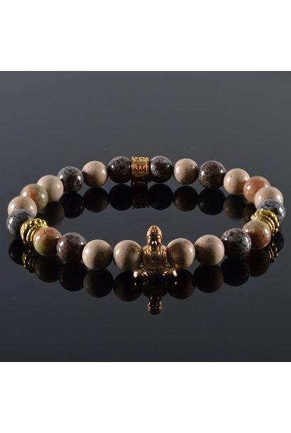 Dames armband Mind my Business Buddha