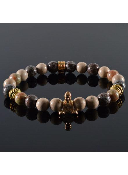JayC's Damen-Armband Mind my Business Buddha