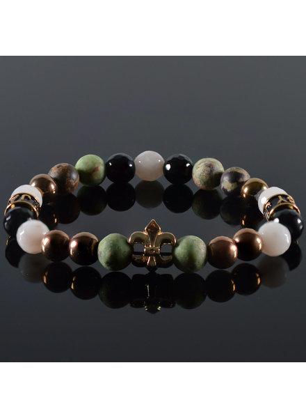 JayC's Ladies bracelet Burganda