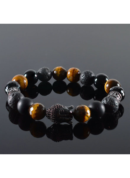 JayC's Dames armband Promise Buddha