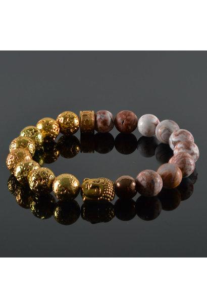Damen-Armband  Xenia Buddha