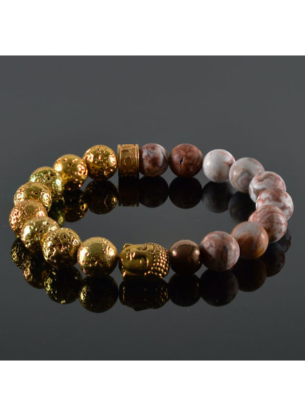 JayC's Damen-Armband  Xenia Buddha