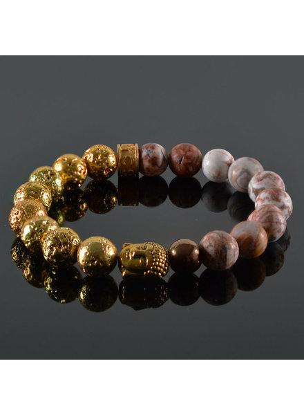 JayC's Dames armband Xenia Buddha