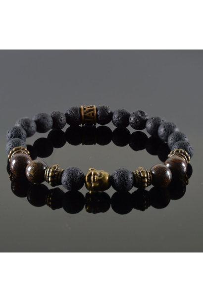 Ladies Bracelet Douvle  Buddha