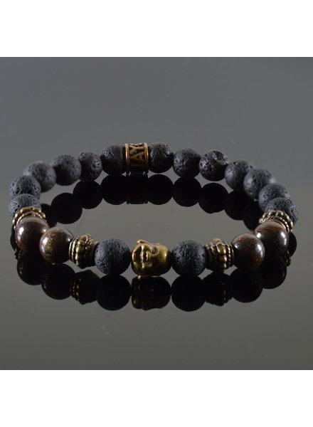 JayC's Damen-Armband Douvle  Buddha