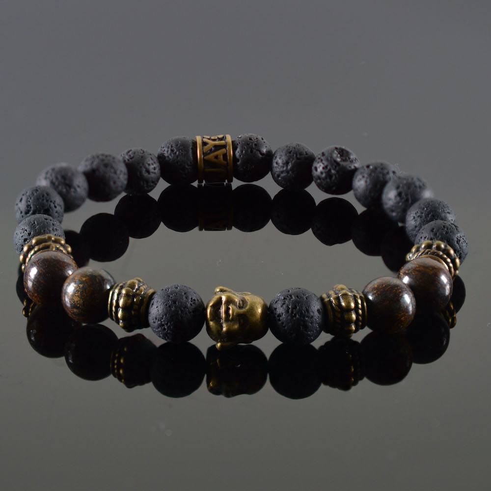 Armband dames Buddha Douvle-1