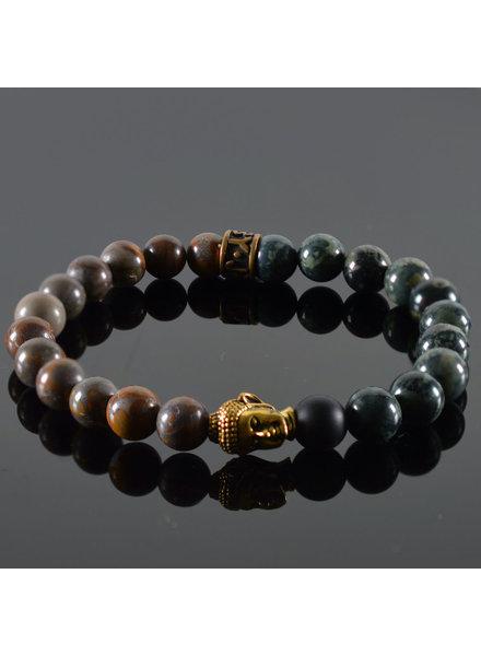 JayC's Bracelet Unisex Roar Buddha
