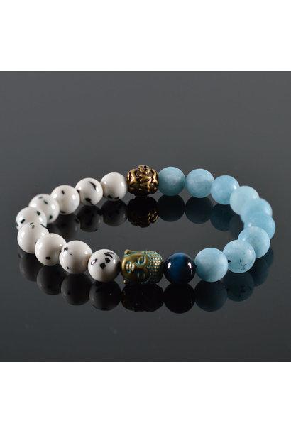 Dames armband Buddha Devina
