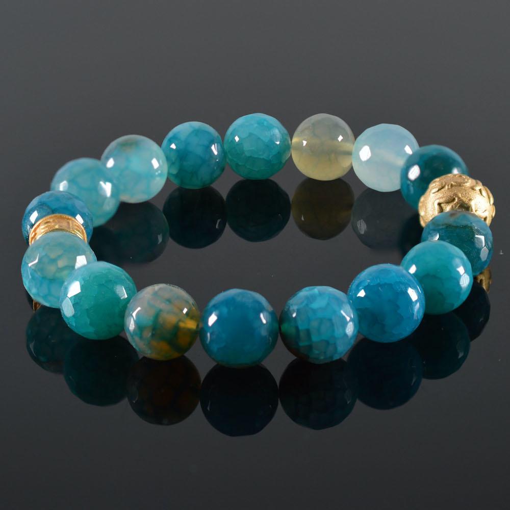 Armband dames Blauw JayC's-1