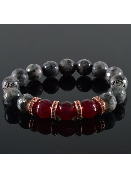 JayC's Damen-Armband Granata Swarovski