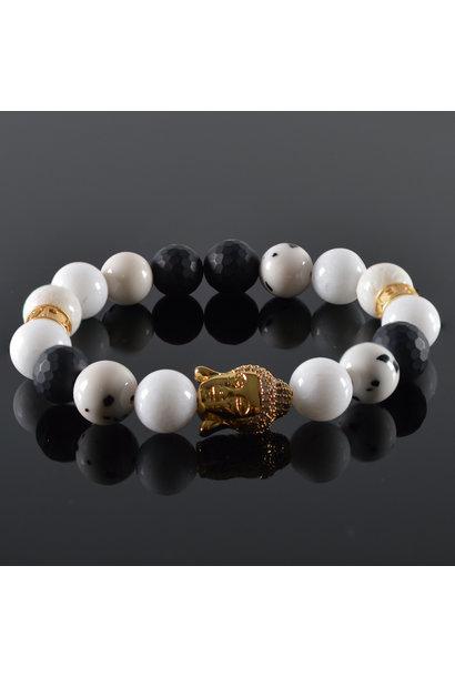 Dames armband Buddha Nirwana