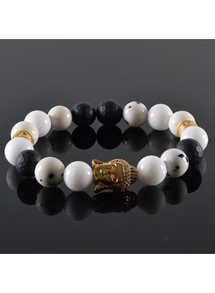 JayC's Damen-Armband Buddha Nirwana