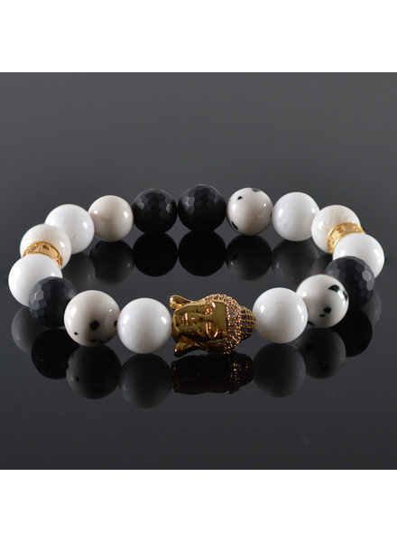 JayC's Dames armband Buddha Nirwana