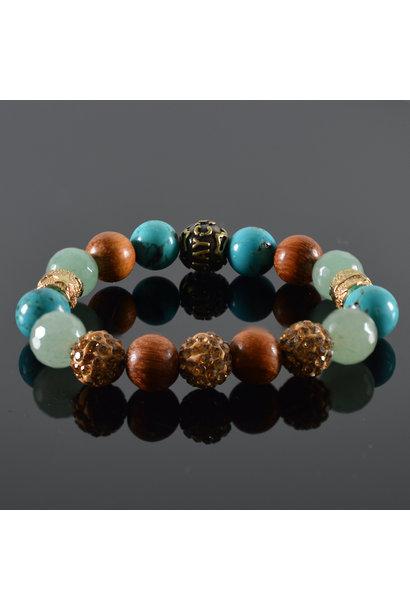 Damen-Armband Emerald