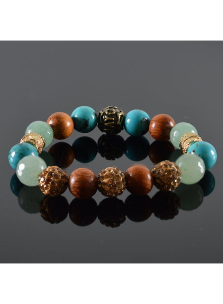 JayC's Ladies Bracelet Emerald