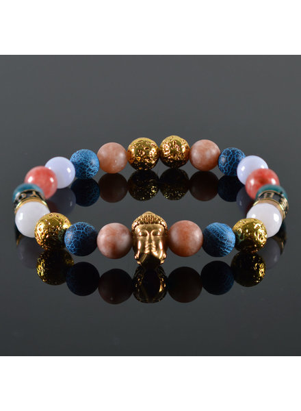 JayC's Damen-Armband Buddha Radam