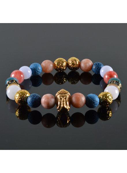 JayC's Dames armband Buddha Radam