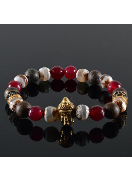 JayC's Dames armband Maeva Buddha