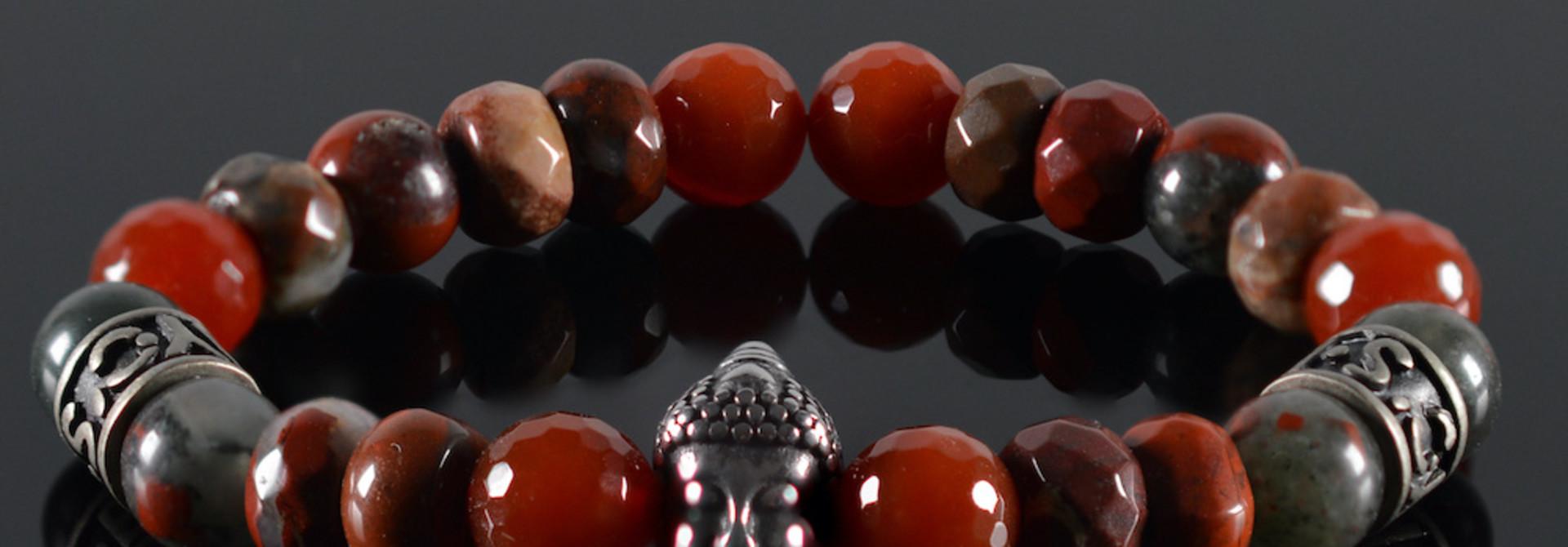 Armband Unisex Red Buddha