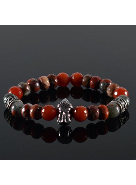JayC's Unisex  bracelet  Red Buddha