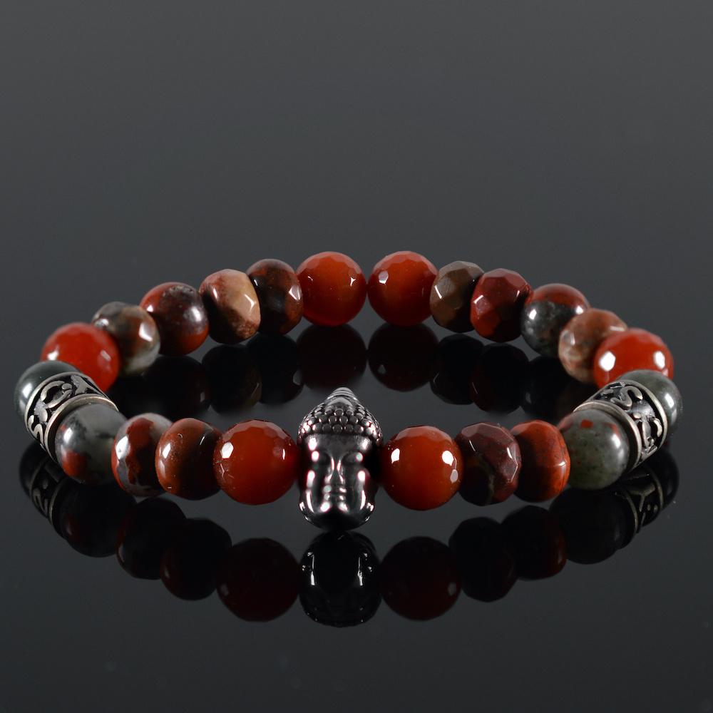Armband Unisex Red Buddha-1