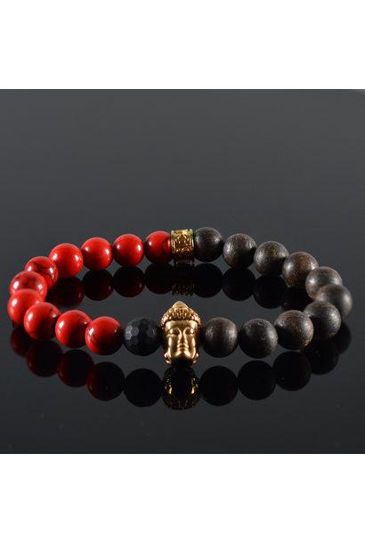 Heren armband Louay Buddha