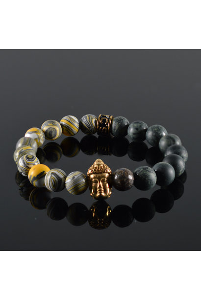 Dames armband Buddha Bodor