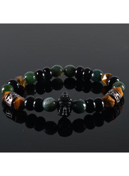 JayC's Unisex armband Yavi Buddha