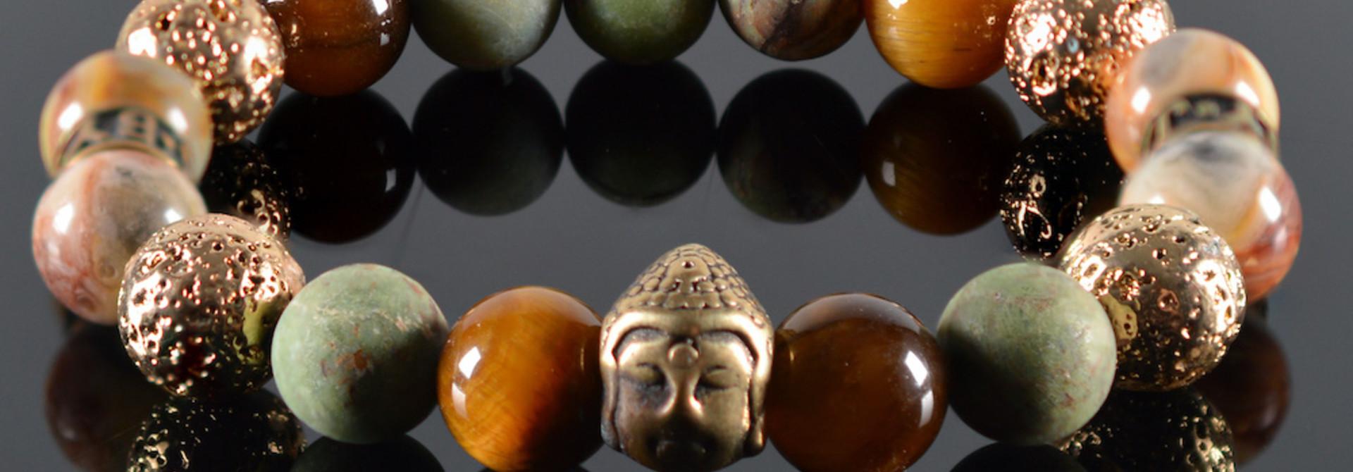 Armband dames Malla Buddha