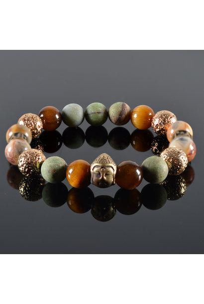 Dames armband Malla Buddha