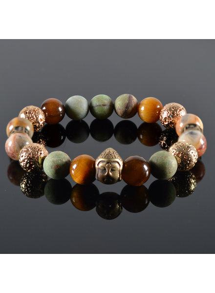 JayC's Dames armband Malla Buddha