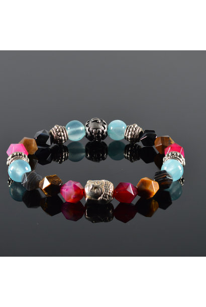 Buddha Ladies Bracelet Flower