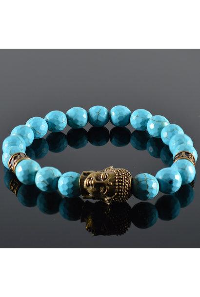 Heren armband Quetre Buddha