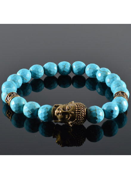 JayC's Herren Armband  Quetre Buddha