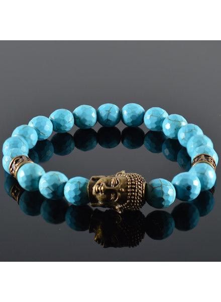 JayC's Men's Bracelet Quetre Buddha